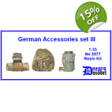 German Accessories set III 1/35