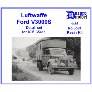 Luftwaffe Ford V3000S D..
