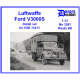 Luftwaffe Ford V3000S Detail set for ICM 35411 1/35