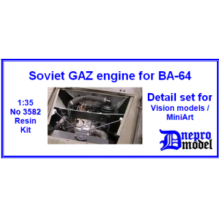 Soviet GAZ engine for B..
