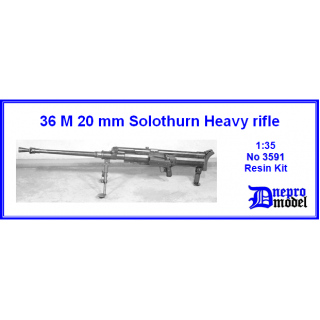 36 M 20 mm Solothurn Heavy rifle 1/35
