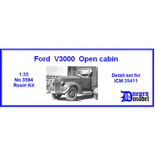 Ford V3000 Open cabin D..