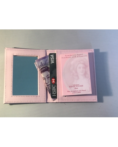 Papier Poudré Wallet and Mirror
