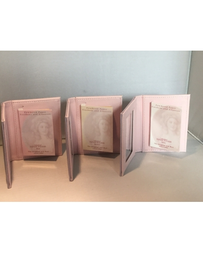 Papier Poudré Wallet and Mirror with Booklet