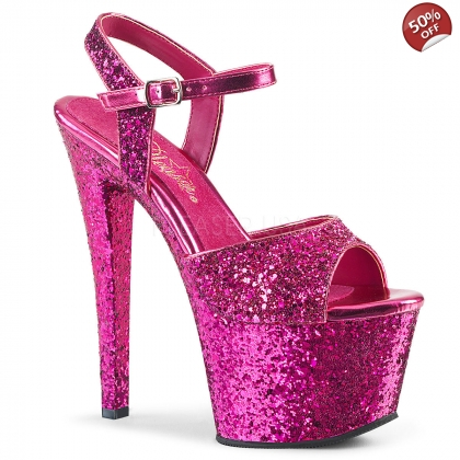 Half price pink glitter shoes
