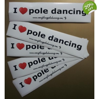 I love pole sticker