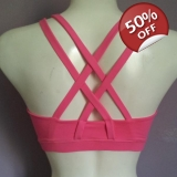 XL pink sports bra & shorts set