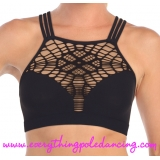 Web Front crop bra top