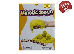 KINETIC SAND 2.5KG - YELLOW
