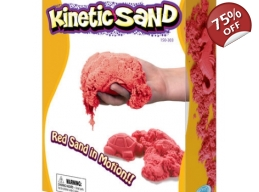 KINETIC SAND 2.5KG - RED