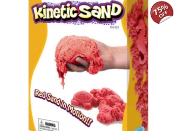 KINETIC SAND 2.2KG - RED