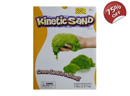 KINETIC SAND 2.5KG - GREEN