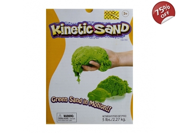 KINETIC SAND 2.2KG - GREEN