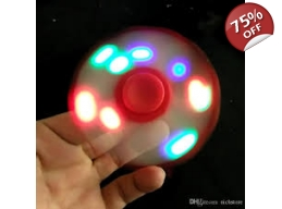 LED Fidget Spinner - Red