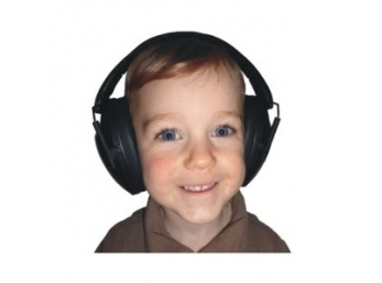 Kids Ear Defenders - Black