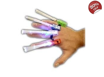 Fibre Optic Finger Wand - 5 Pack
