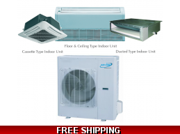 AirCon 42000 BTU 16 SEER Sky Split Series Mini Split Heat Pump AC
