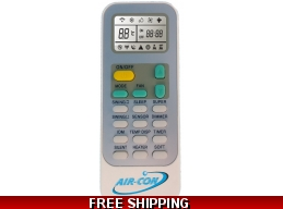 AirCon Blue Series 2 Original Remote Control