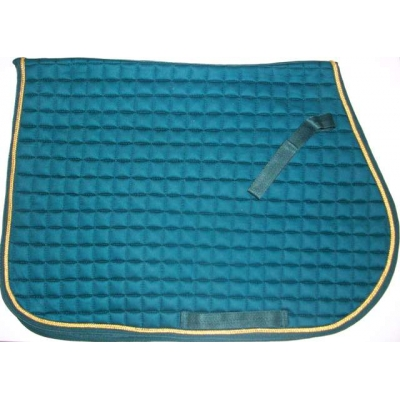 Forest Green Saddle Cloth