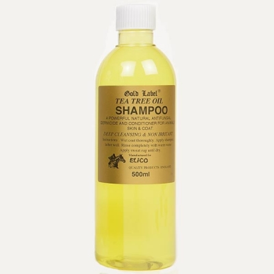 Gold Label Shampoo Range 500ml - Elico