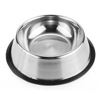 Flared Stainless Steel Bowl
