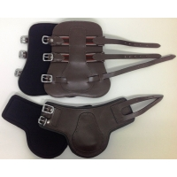 Leather Tendon & Fetlock Boots Set